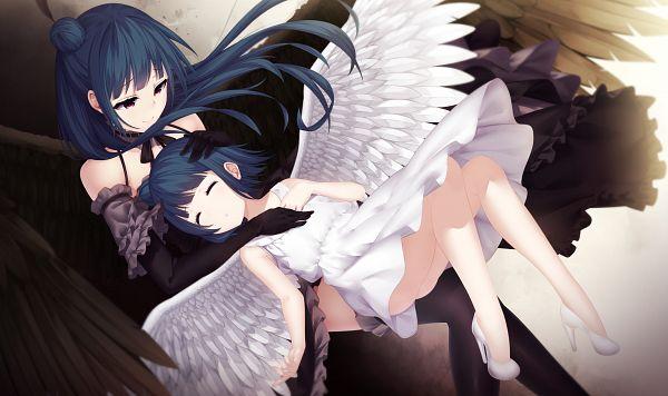 Tags: Anime, Pixiv Id 4608546, Love Live! Sunshine!!, Tsushima Yoshiko, PNG Conversion, Wallpaper, Yoshiko Tsushima