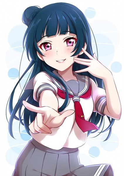Tags: Anime, Sekina, Love Live! Sunshine!!, Tsushima Yoshiko, Pixiv, Fanart, Fanart From Pixiv, Yoshiko Tsushima