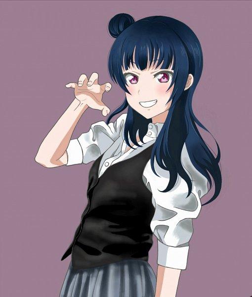Tags: Anime, Pixiv Id 28732636, Love Live! Sunshine!!, Tsushima Yoshiko, Pixiv, Fanart, Fanart From Pixiv, Yoshiko Tsushima