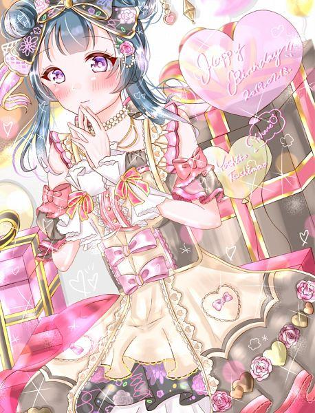 Tags: Anime, Pixiv Id 32401856, Love Live! Sunshine!!, Tsushima Yoshiko, Fanart From Pixiv, Pixiv, Fanart, Yoshiko Tsushima
