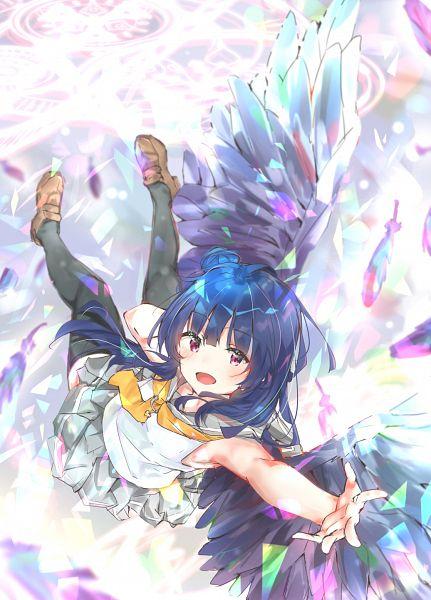 Tags: Anime, Pixiv Id 27697125, Love Live! Sunshine!!, Tsushima Yoshiko, Fanart From Pixiv, Pixiv, Fanart