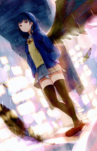 Tags: Anime, Pixiv Id 19714394, Love Live! Sunshine!!, Tsushima Yoshiko, Fanart From Pixiv, Pixiv, Fanart, Yoshiko Tsushima