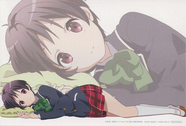 Tags: Anime, Kyoto Animation, Chuunibyo Demo Koi ga Shitai!, Tsuyuri Kumin, Official Art, Scan, Eyecatcher, Chuunibyo Demo Koi Ga Shitai! - Eyecatcher