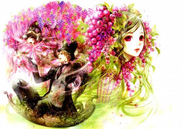 Tags: Anime, Tukiji Nao, Nao Tsukiji Illustrations - NOSTALGIA, Fruit (Personification), Scan