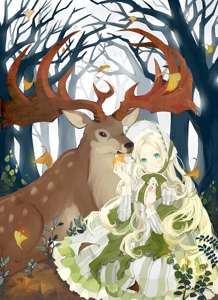 Tags: Anime, Tunami, Deer, Pixiv