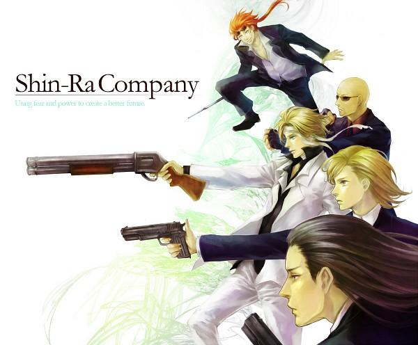 Tags: Anime, Tetra Takamine, SQUARE ENIX, Final Fantasy VII, Rufus Shinra, Reno, Tseng, Elena, Rude, Shotgun, Electric Rod, Pixiv, Turks