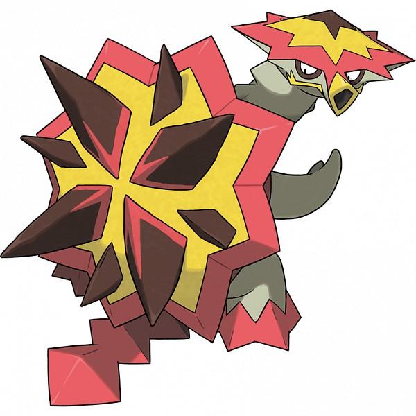 Turtonator - Pokémon