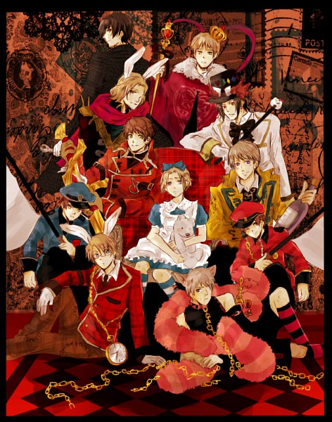 Tweedledum - Alice in Wonderland