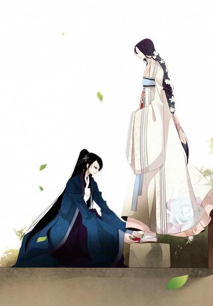 Tags: Anime, Twelve Nights, Dan Ah, Nabi (Twelve Nights), Korean Clothes, Hanbok