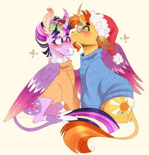 Tags: Anime, My Little Pony, Twilight Sparkle, Sunburst, Alicorn, Cutie Mark, Twiburst, Pony, deviantART, Fanart From DeviantART, Fanart
