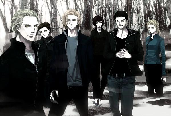 Tags: Anime, Lunarseal, Twilight, Emmett Cullen, Mary Alice Brandon, Esme Cullen, Carlisle Cullen, Rosalie Hale, Jasper Hale, Pixiv, Fanart