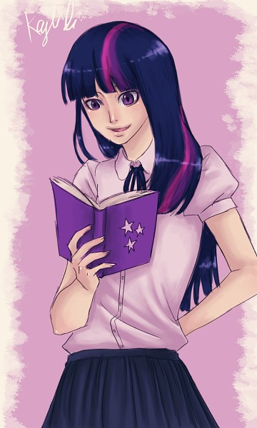 Tags: Anime, Mistix, My Little Pony, Twilight Sparkle, 900x1500 Wallpaper, 3:5 Ratio, Wallpaper, Fanart From DeviantART, Fanart, Mobile Wallpaper, deviantART