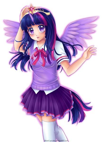 Tags: Anime, AikasCupcake, My Little Pony, Twilight Sparkle, Fanart