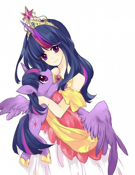 Tags: Anime, LILLIN, My Little Pony, Twilight Sparkle, Pixiv, Fanart, Fanart From Pixiv