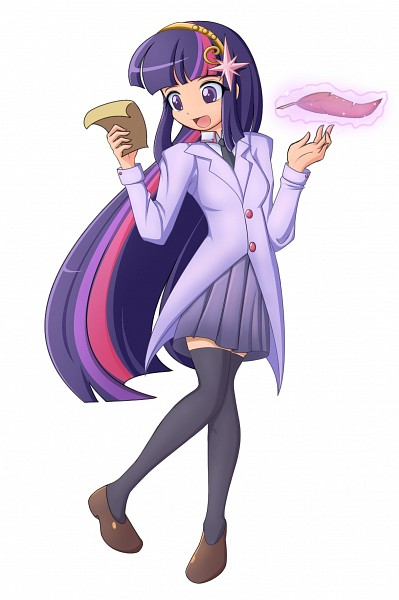 Tags: Anime, Seiryuga, My Little Pony, Twilight Sparkle, deviantART, Fanart From DeviantART, Fanart