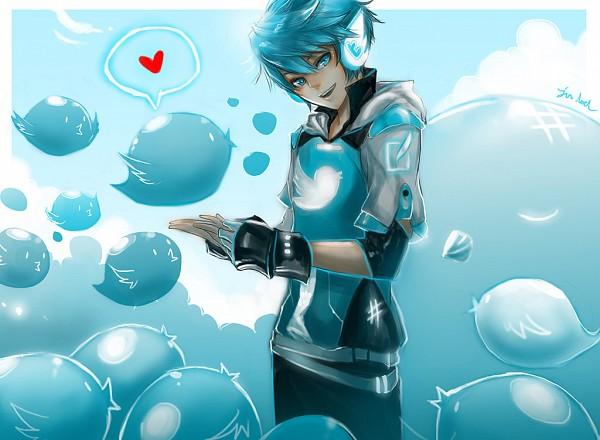 Tags: Anime, Jon Lock, Twitter-tan, OS-tan, Fanart