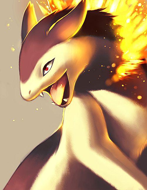 Typhlosion - Pokémon