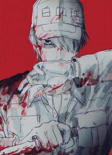 Tags: Anime, Quxiaochong, Hataraku Saibou, U-1146, Neutrophil, Twitter, Lofter