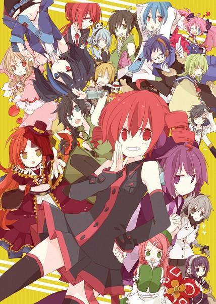 Tags: Anime, Yoshiki / 由杞, UTAU, Sekka Yufu, Yokune Ruko, Suiga Sora, Nagone Mako, Namine Ritsu, Yune Toto, Kasane Ted, Ooka Miko, Haruka Nana, Matsuda Ppoiyo