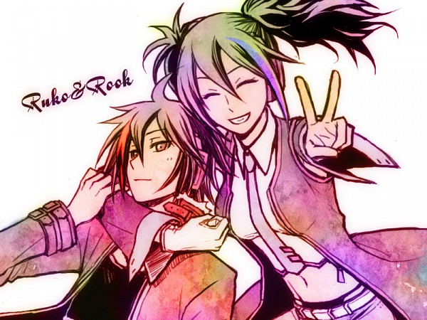Tags: Anime, Chiyomigusa, UTAU, Yokune Ruko, Rook, Pixiv, Fanart, Vipperloid