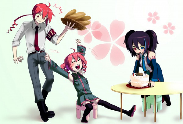 Tags: Anime, UTAU, Kasane Teto, Kasane Ted, Yokune Ruko, Pixiv, Fanart, Vipperloid