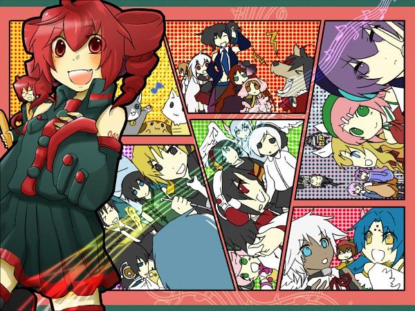 Tags: Anime, UTAU, Kasane Teto, Haruka Nana, Rook (Dog), Momone Momo, Todoroki Eiichi, Momone Momotarou, Sekka Yufu, Rook, Matsuda Ppoiyo, Yokune Ruko, Suiga Sora