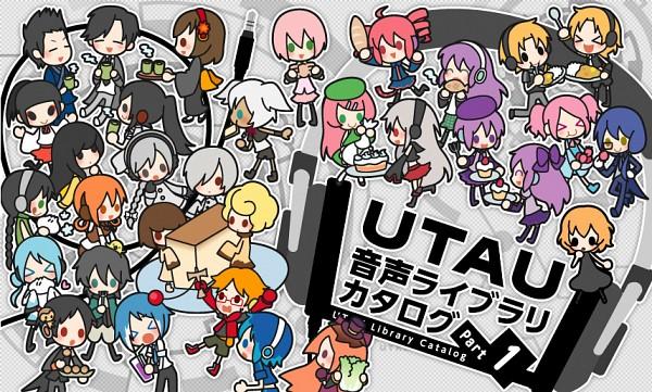 Tags: Anime, UTAU, Suiga Sara, Yamatouchi Iori, Sekka Yufu, Keine Ron, Matsuda Ppoiyo, Soune Taya, Nagone Mako, Kumono Tsuki, Kasane Teto, Jimine Otose, Suiga Sora