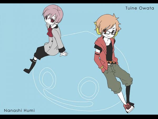 Tags: Anime, Cat0178, UTAU, Tsuine Owata, Nanashi Fumi, Pixiv, Fanart