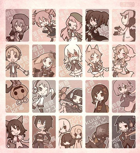 Tags: Anime, Hakusairanger, UTAU, Pumpking the Testloid, Defoko, Ooka Miko, Suiga Sora, Mashiro Yuina, Momone Momo, Chikune Kenta, Kasane Teto, Namine Ritsu, Minorine Towano