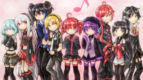 Tags: Anime, Kedama Black, UTAU, Suiga Sora, Yokune Ruko, Yurika Sayu, Hakuapoid, Nagone Mako, Kasane Ted, Kasane Teto, Sukone Tei, Defoko, Facebook Cover