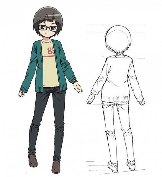 Tags: Anime, Hirata Katsuzou, Studio Gokumi, AXsiZ, Maesetsu!, Ubuno Hatsuna, Official Art, Cover Image