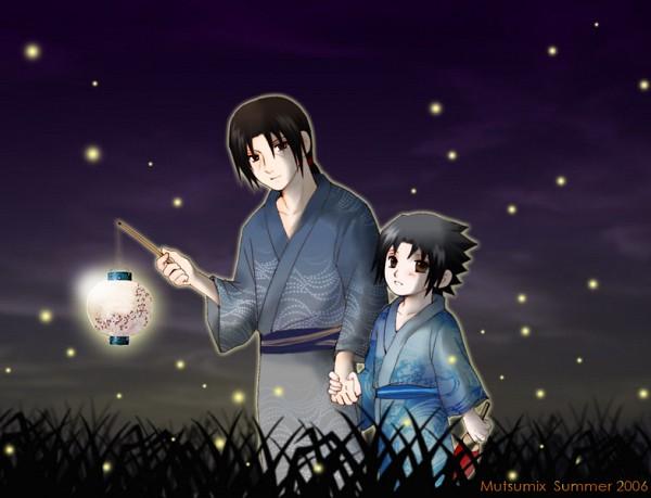 Tags: Anime, Mutsumix, NARUTO, Uchiha Itachi, Uchiha Sasuke, Walking Together, Uchiha Brothers