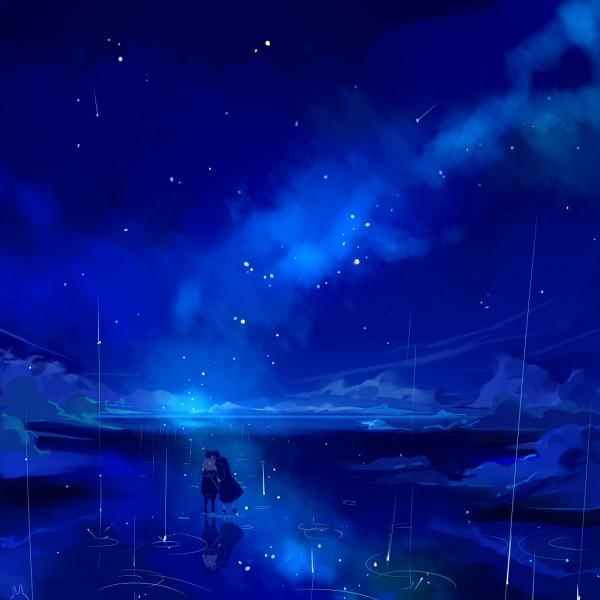 Tags: Anime, Usagi (Pixiv1723159), NARUTO, Uchiha Sasuke, Uchiha Itachi, Walking On Water, Pixiv, Fanart From Pixiv, PNG Conversion, Fanart, Uchiha Brothers