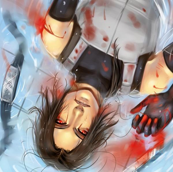 Tags: Anime, Moni158, NARUTO, Uchiha Itachi, Anbu, Blood Tears, Fanart, deviantART