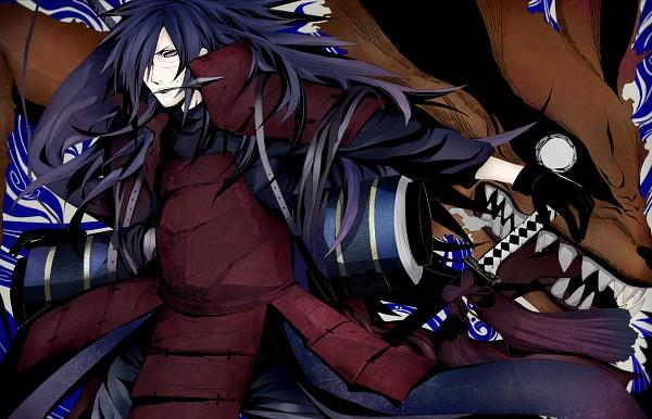 Tags: Anime, Pixiv Id 298862, NARUTO, Uchiha Madara, Kyuubi (NARUTO), Tailed Beasts