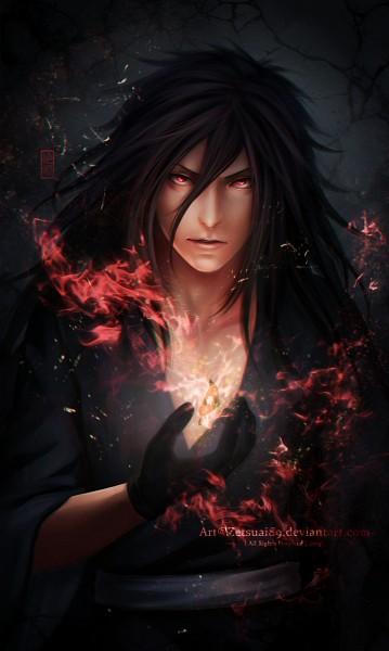 Tags: Anime, Zetsuai89, NARUTO, Uchiha Madara, Cracks, deviantART, Fanart From DeviantART, Fanart, PNG Conversion, Mobile Wallpaper