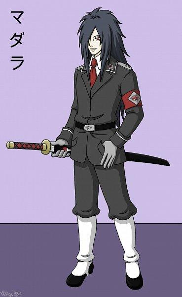 Tags: Anime, NARUTO, Uchiha Madara, Gray Outfit, Vivianelefay, War, Uchiha Symbol, World War II, deviantART