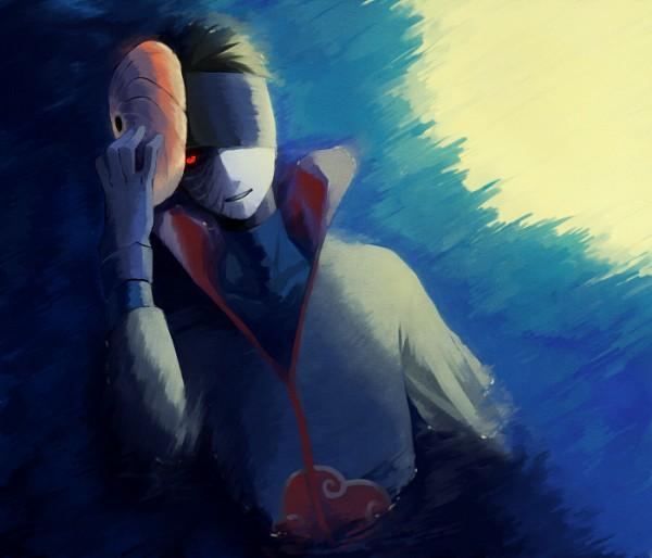 Tags: Anime, Pixiv Id 1026784, NARUTO, Tobi, Uchiha Obito, Holding Mask, Pixiv, Fanart From Pixiv, Fanart, Uchiha Clan, Obito Uchiha