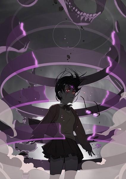 Tags: Anime, vashperado, NARUTO, Uchiha Sarada, Susano'o (NARUTO), Mobile Wallpaper, Sarada Uchiha