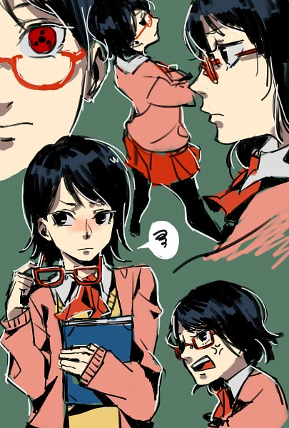 Tags: Anime, Pixiv Id 9092208, NARUTO, Uchiha Sarada, Fanart From Pixiv, Pixiv, Mobile Wallpaper, Fanart, Sarada Uchiha