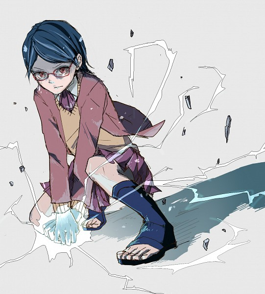 Tags: Anime, Pixiv Id 2522667, NARUTO, Uchiha Sarada, Sarada Uchiha