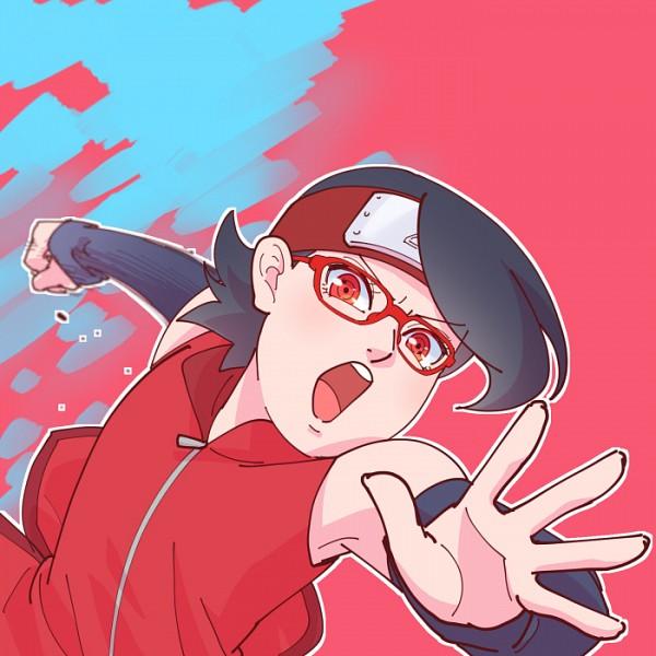 Tags: Anime, Pixiv Id 468643, NARUTO, Uchiha Sarada, Pixiv, Fanart, Fanart From Pixiv, Sarada Uchiha
