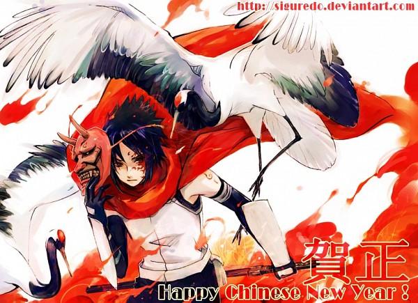 Tags: Anime, Shelattic, NARUTO, Uchiha Sasuke, Anbu, deviantART, Fanart