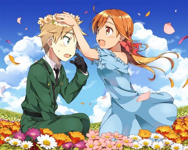 Tags: Anime, Arieko, Axis Powers: Hetalia, United Kingdom, Seychelles, Ore no Imouto ga Konna ni Kawaii Wake ga Nai (Parody), Uksey