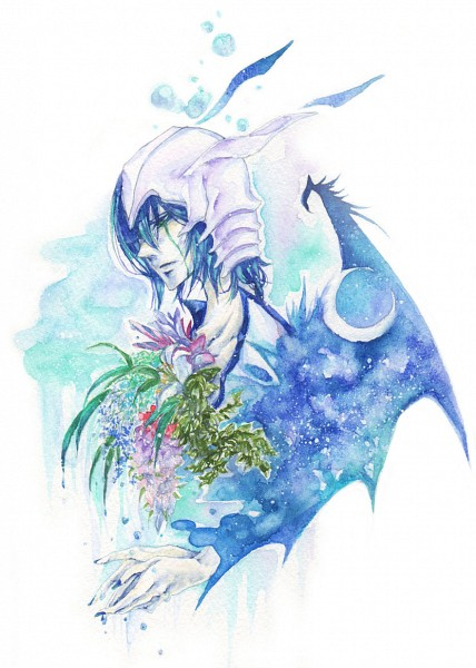 Tags: Anime, Seirei, BLEACH, Ulquiorra Schiffer, Mobile Wallpaper, Espada, Ulquiorra Cifer
