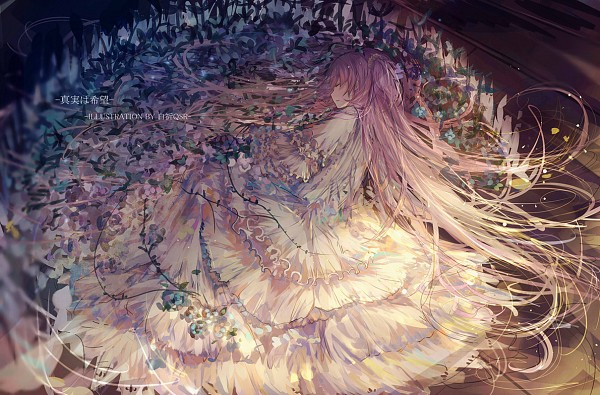 Tags: Anime, Bai Qi QSR, Mahou Shoujo Madoka☆Magica, Kaname Madoka, Ultimate Madoka, Chinese Text, Fanart, Fanart From Pixiv, Pixiv