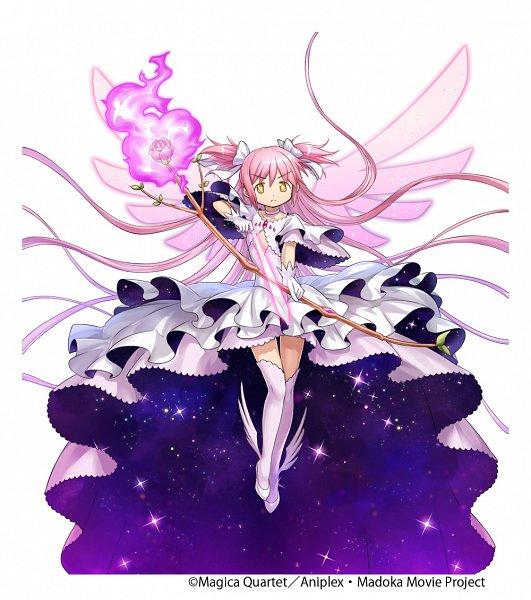 Tags: Anime, gumi Inc., Mahou Shoujo Madoka☆Magica, Crystal of Re:union, Ultimate Madoka, Kaname Madoka, Official Art