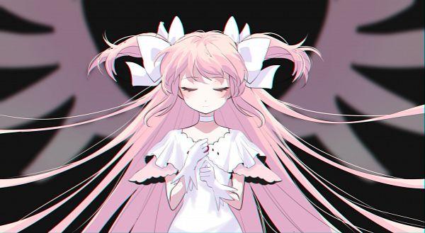Tags: Anime, Pixiv Id 33452938, Mahou Shoujo Madoka☆Magica, Kaname Madoka, Ultimate Madoka, Facebook Cover, Pixiv, Fanart, Fanart From Pixiv