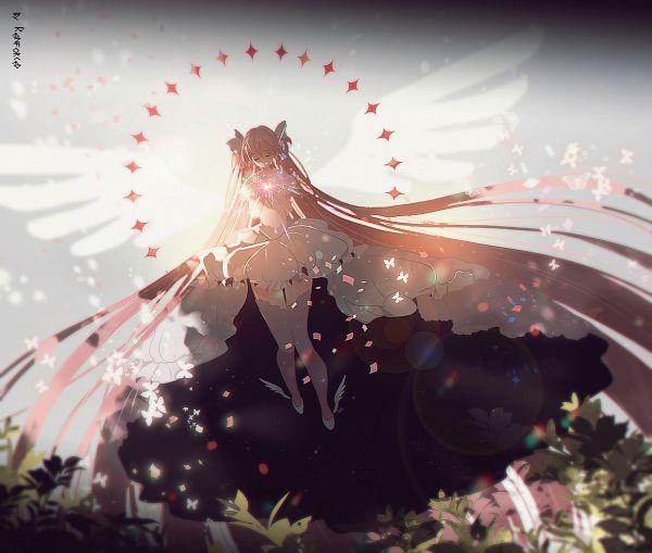 Tags: Anime, Pixiv Id 12355624, Mahou Shoujo Madoka☆Magica, Kaname Madoka, Ultimate Madoka, Pixiv, Fanart, Fanart From Pixiv