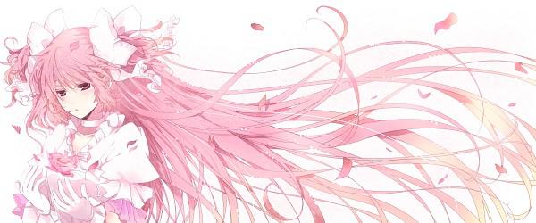 Tags: Anime, Mitsu Yomogi, Mahou Shoujo Madoka☆Magica, Ultimate Madoka, Kaname Madoka, Facebook Cover